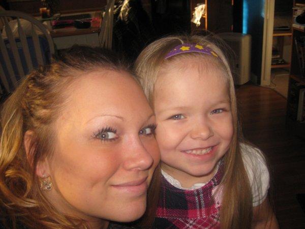 Maman et sa princesse:)