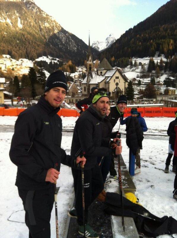 Peter Sagan et Moreno Moser