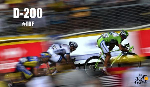 J-200 du départ du Tour de France