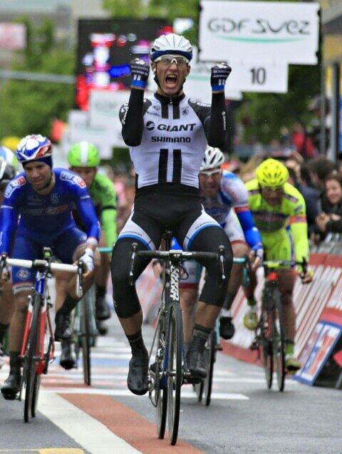 Marcel Kittel remporte la 2e étape du Giro