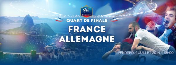 Ce  soir France-Allemagne