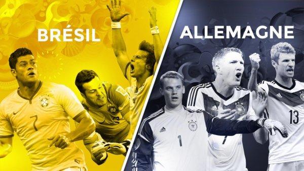 Ce soir Brésil-Allemagne ♥