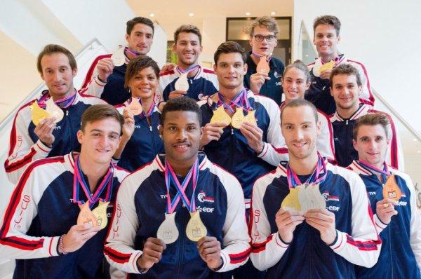 Nos merveilleux nageurs français médaillés
