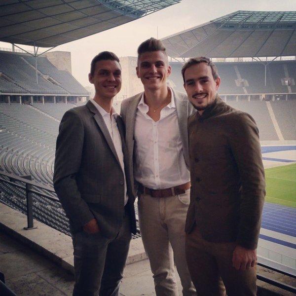 Marcel & Tony & John ♥