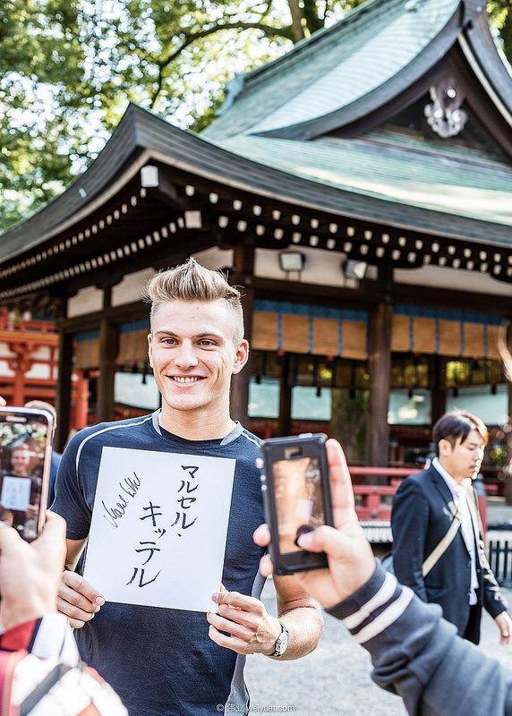 Marcel au Japon