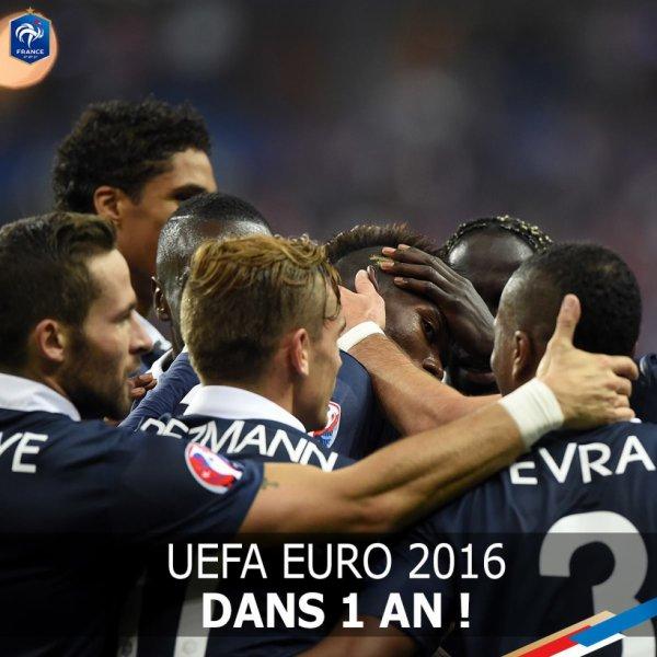 Euro 2016 dans un 1 an ^^