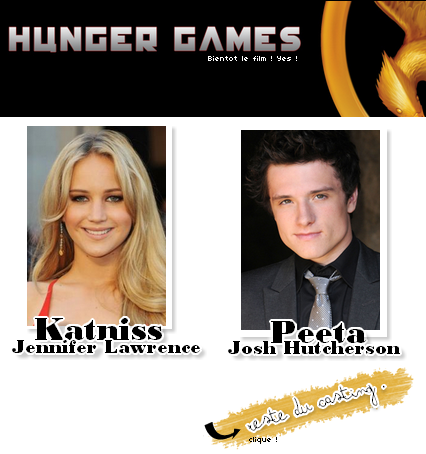 Hunger Games ; Le film ♥