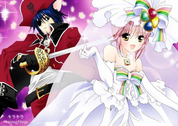 fin du chapitre shugo chara, pour finir: des image tro mimi et meme Tadase en soubrettes XD ♥