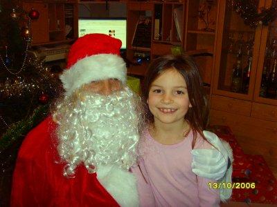 voici ma fille chloé 7 ans et demi
