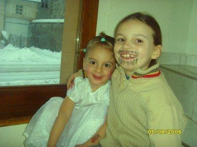 mon fils kyllian deguisé en fille et ma fille deguisé en homme