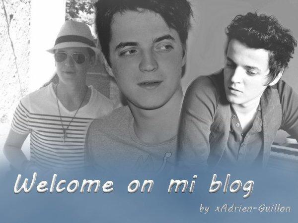 Bienvenue sur mon blog.. <3