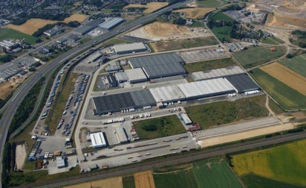 "Euro Truck 2, premier voyage ""Liege (B) zoning Grâce-Hollogne-Dortmund (D)"""