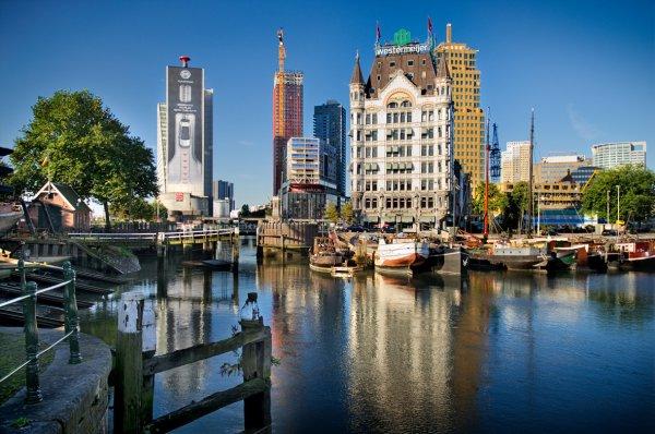Rotterdam au Pays Bas.