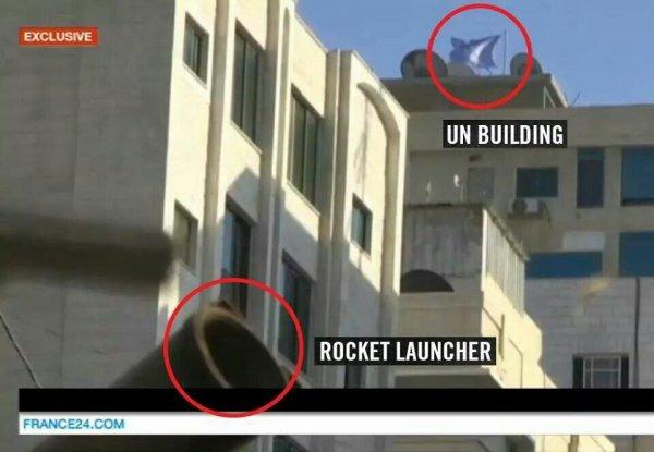 Dans l'immeuble de ONU comme les écoles tire des rocket Le ONU sont pour pour ces rat= Hamas  et les médias vous cache là vérité