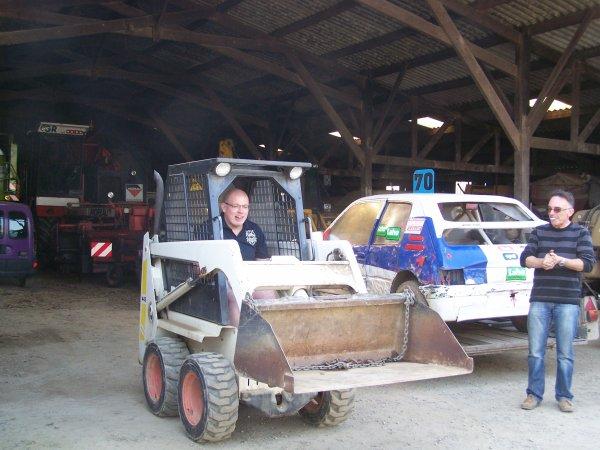 la nouvelle voiture de cedric pour 2011