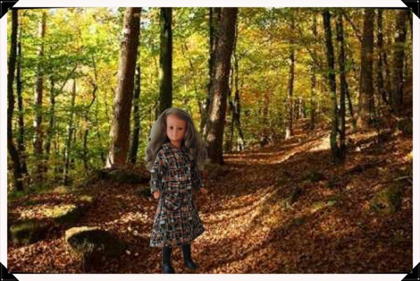 Dolly se balade en foret!!