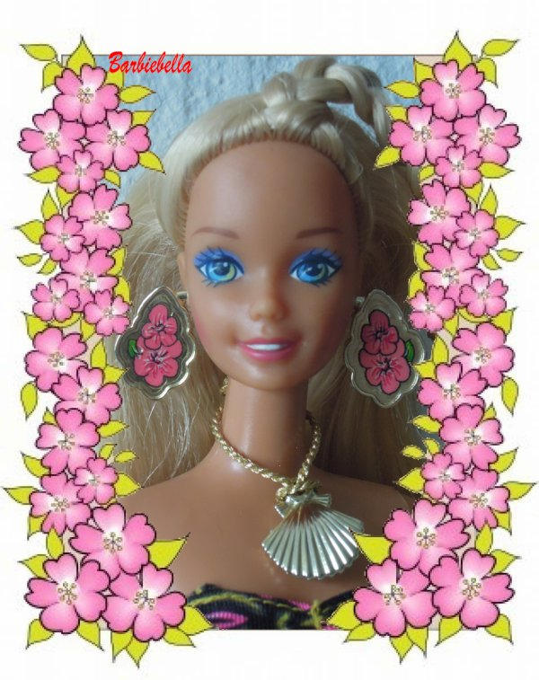 Barbie dans les îles un Lundi....