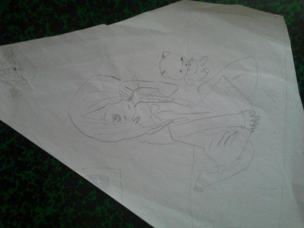 autre dessin  manga , fille normalle , bob etc ...