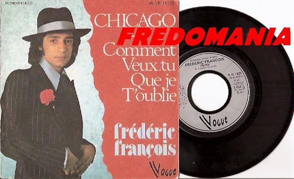 1975 : Chicago - Frédéric François   FREDOMANIA