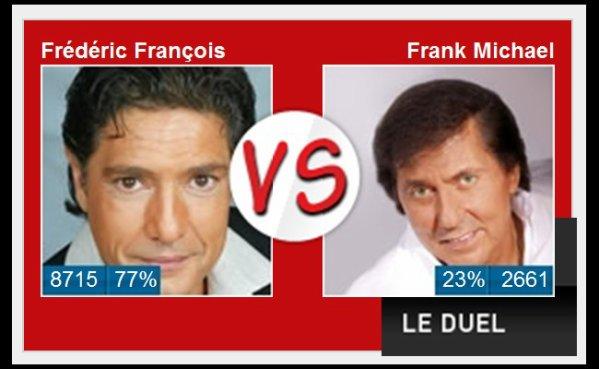 Votez pour Frédéric François - Frédomania