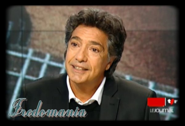 FREDERIC FRANCOIS est l'invité culturel du journal TSR