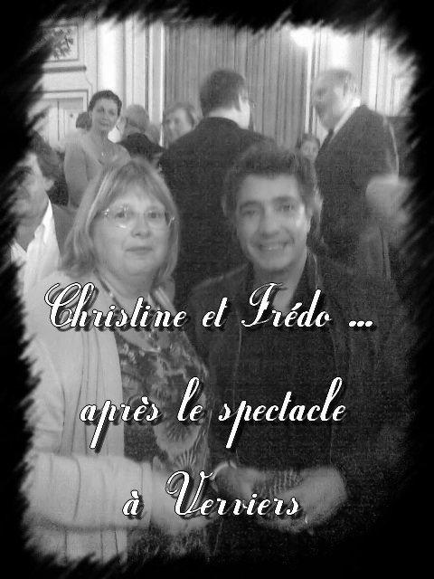 Frédéric François et Christine - Verviers 2010 - Pluie d'étoiles