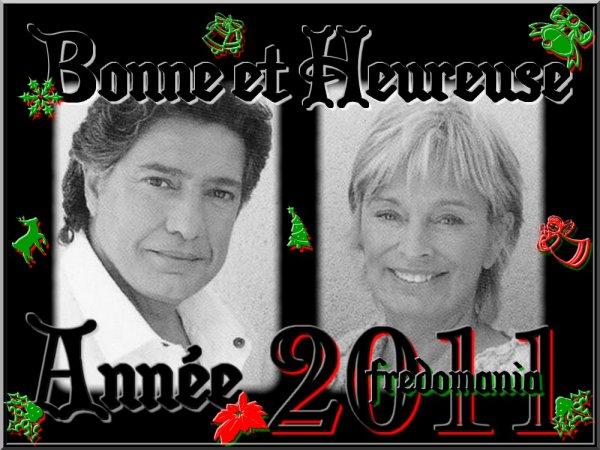 Voeux 2011 - Frédéric François et Monique