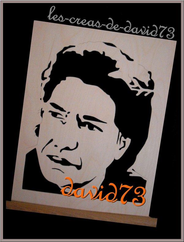 FREDERIC FRANCOIS - GRAVURE SUR BOIS de DAVID73 - FREDOMANIA