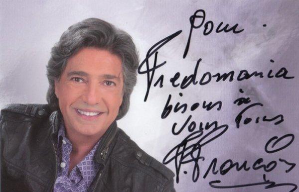 DEDICACE pour vous tous !!! de la part de Frédéric François - OLYMPIA 2011 - FREDOMANIA