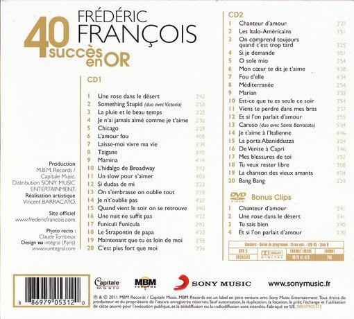 Frédéric François - 40 ans de succès - Album 2011