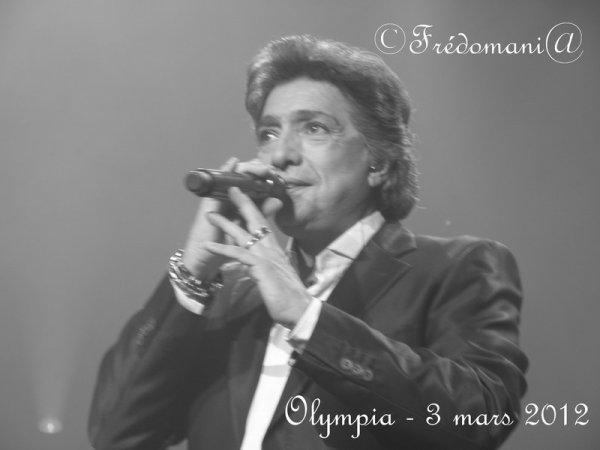 Frédéric François - Olympia 2012