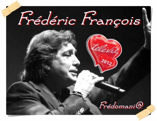Frédéric François - Soirée de clôture du Télévie 2012