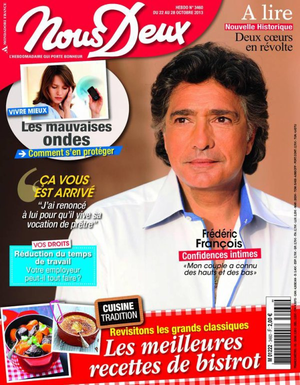 Frédéric François - Confidences Intimes