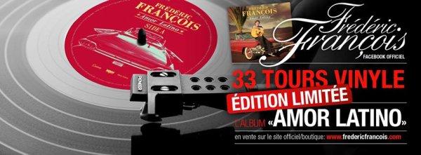 Frédéric François - Amor Latino - 33 tours collector