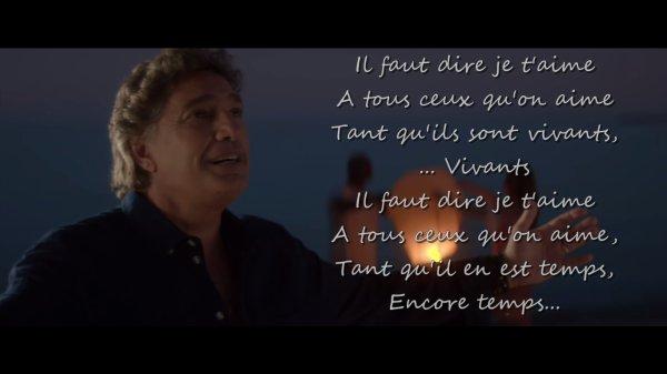 A tous ceux qu'on aime - Frédéric François