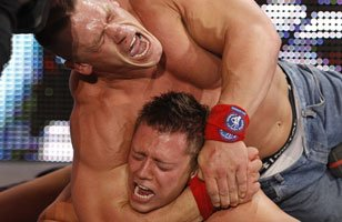 "WWE Champion John Cena vs. The Miz (""I Quit"" Match)"