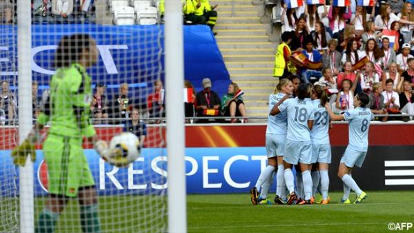 L'Equipe de France féminine remporte son match