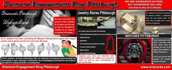 Diamond Engagement Ring Pittsburgh