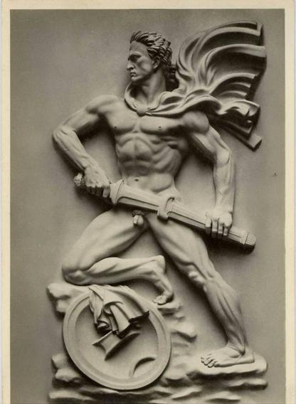 Arts, Etats et Pouvoir : Le Garde, d'Arno Breker
