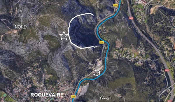 Naissance de Roquevaire, d'une berge à l'autre de l'Huveaune (PHM_10)