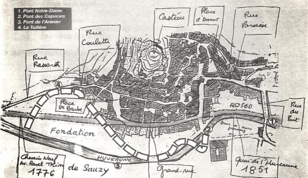 1708. La fondation de SAUZY