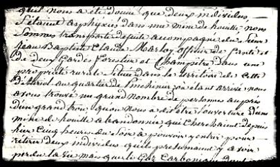 1827. Drame à Pinchinier (La Bouilladisse 13)