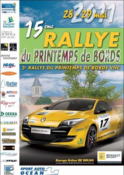 PRESENTATION: 15ème Rallye Régional Printemps de Bords VHC et Classic