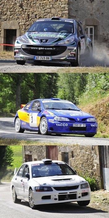 Rallye St Sornin Leulac-Chateauponsac-Bessines (82 partants, 70 classés)