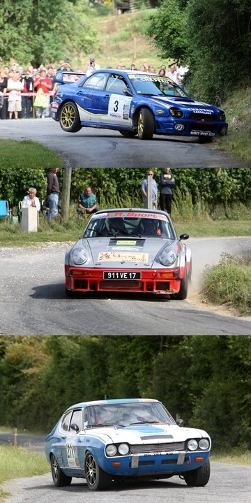Rallye National de Saintonge (86 partants, 52 classés)