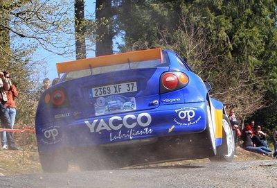 Rallye Régional de La Porcelaine (60 partants, 43 classés)