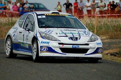 Rallye de Bessé Sur Braye (51 partants, 37 classés)