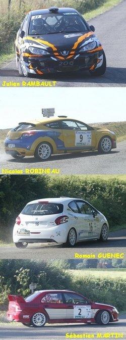 Rallye Régional de Bessé/Braye et du Pays Calaisien (79 partants, 58 classés)