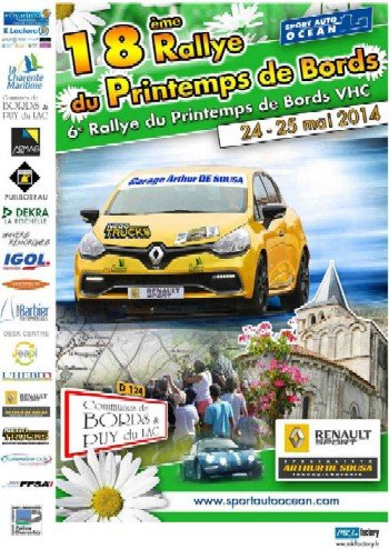 24 & 25 Mai 2014   Rallye Régional du Printemps de Bords