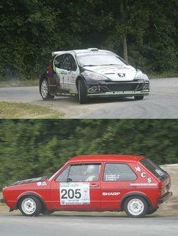 Rallye Régional Le Mans (77 partants, 53 classés)